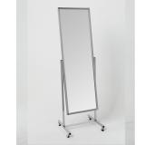 Зеркало примерочное напольное на колесах, 550Lx1774Hx505D мм, зеркальное полотно 1500х500 мм.