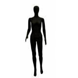 Манекен женский матовый, черный, Рост 175см, Бюст 89см, Талия 65см, Бедра 86см