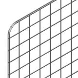 Панель-сетка 1960х770мм, хром